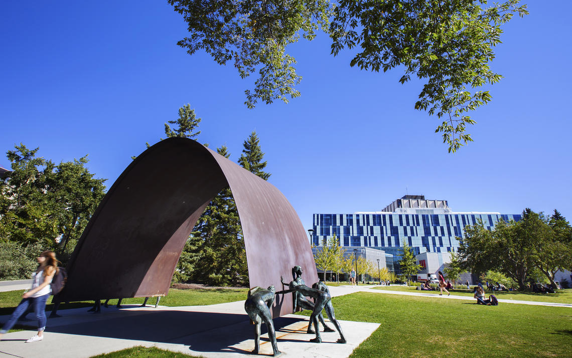 UCalgary outdoor green space