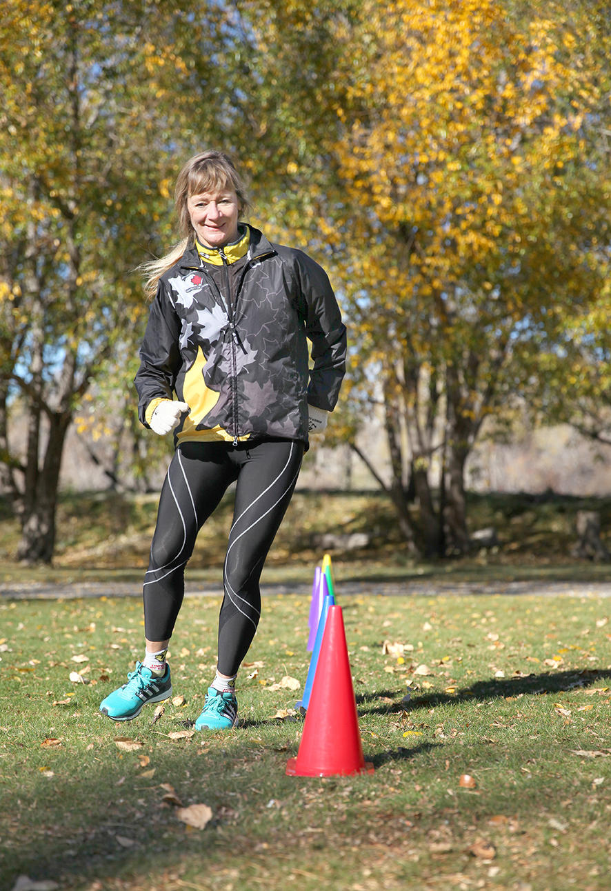 Cross-training with the University of Calgary Marathon club