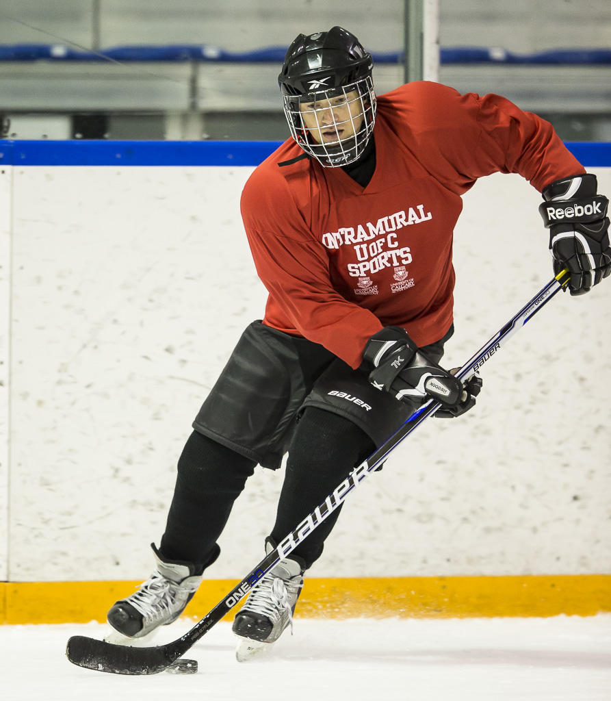 UCalgary Active Living learn to hockey program