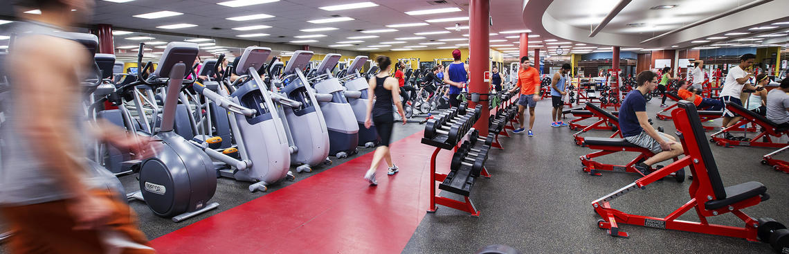 University of Calgary Fitness Centre weights and cardio