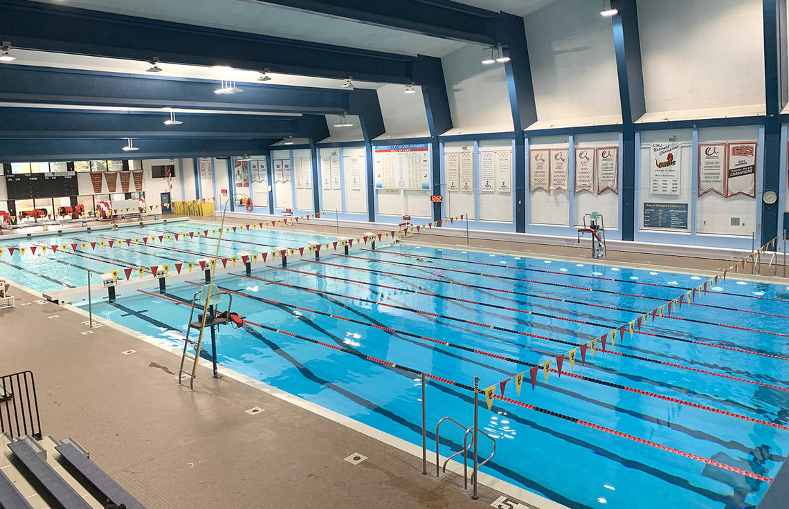 UCalgary Aquatic Centre pool overview
