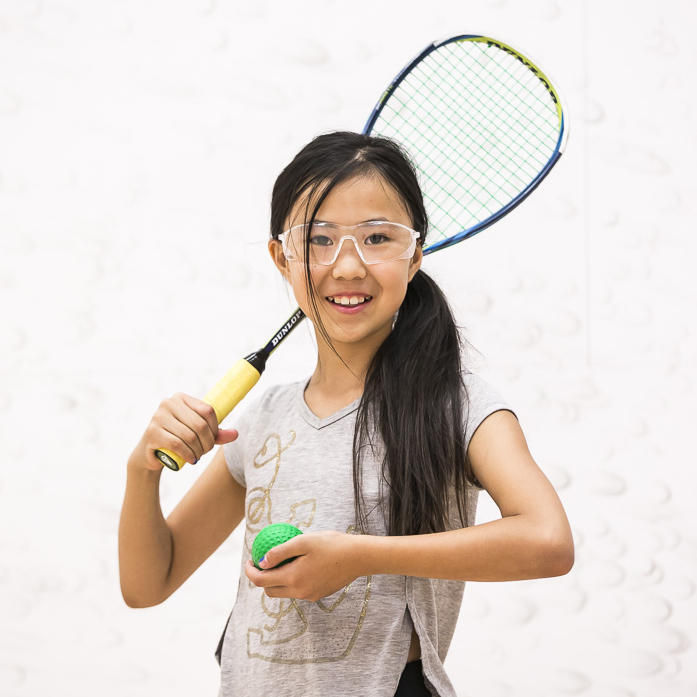 Youth racquet sports
