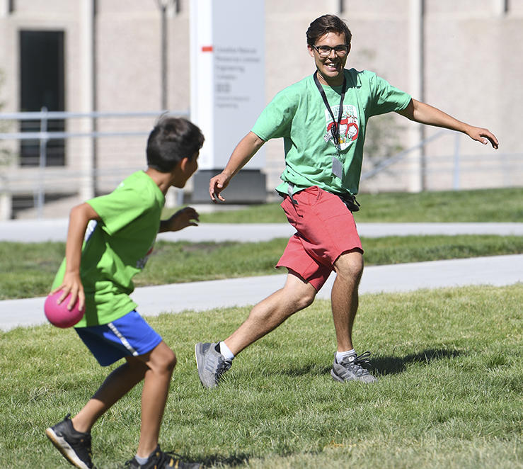 Minds in Motion camp with University of Calgary
