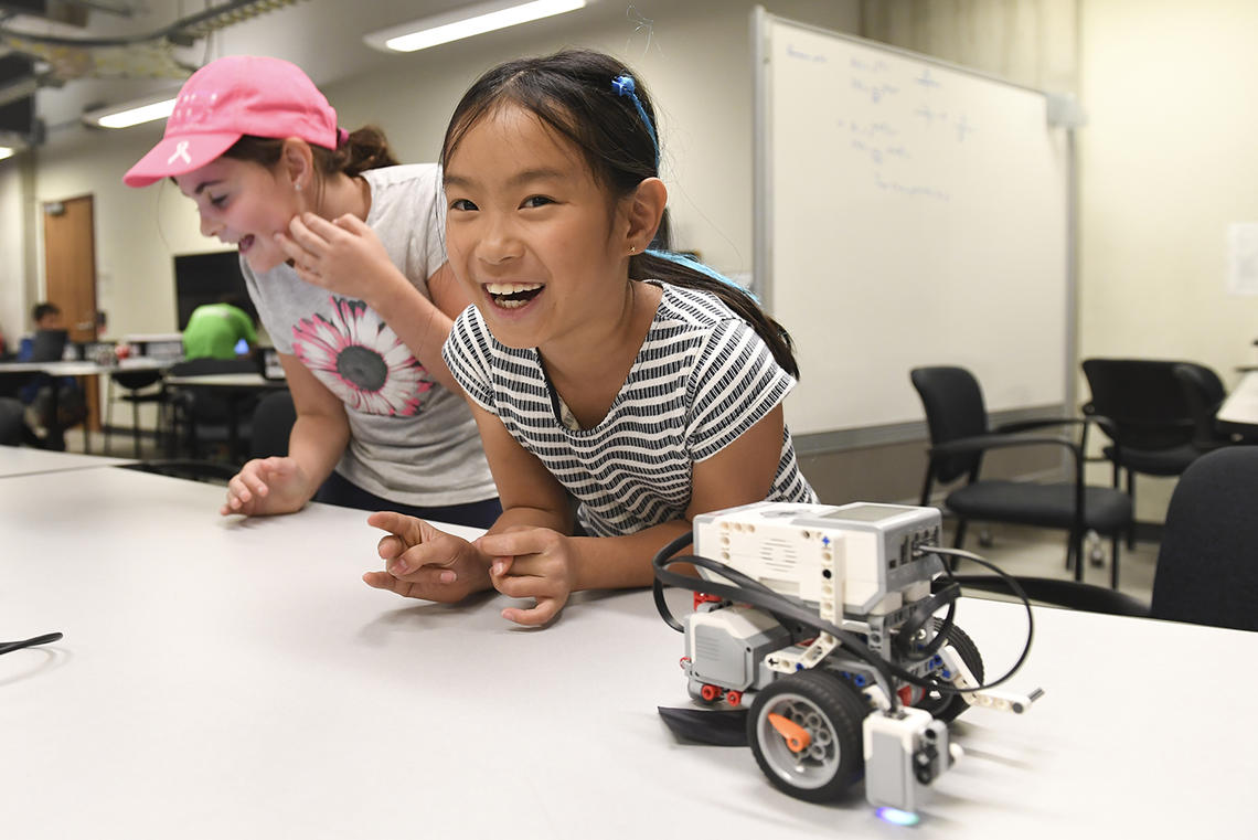 Minds in Motion camp at UCalgary