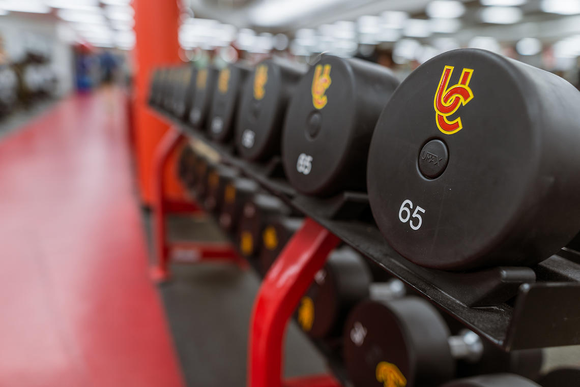UCalgary Fitness Centre weights