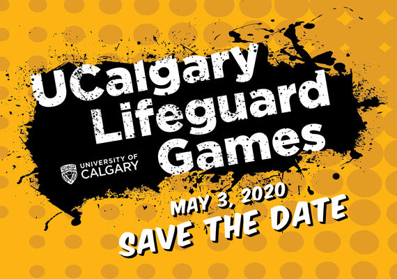 UCalgary Lifeguard Games save the date