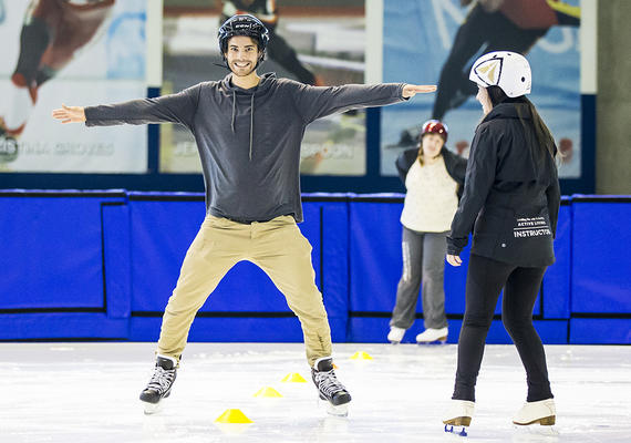 Learn to skate program at UCalgary