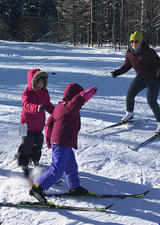 Kids Cross-Country Skiing with UCalgary Outdoor Centre programs